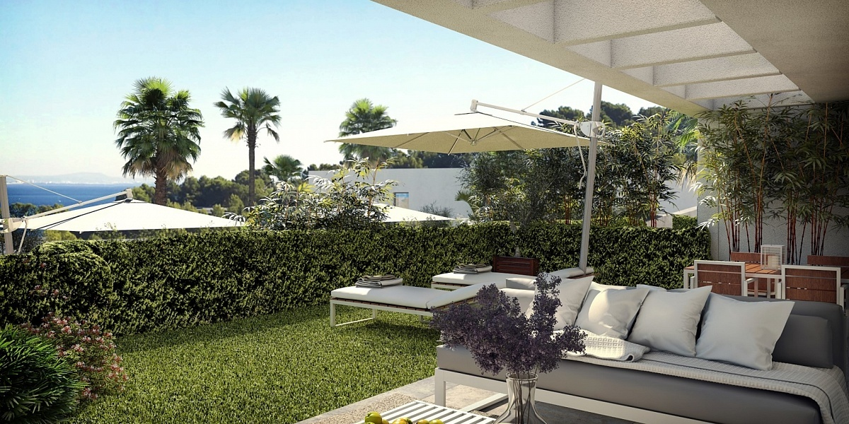 3 bedroom Townhouse for sale in Cala Vinyas, Mallorca