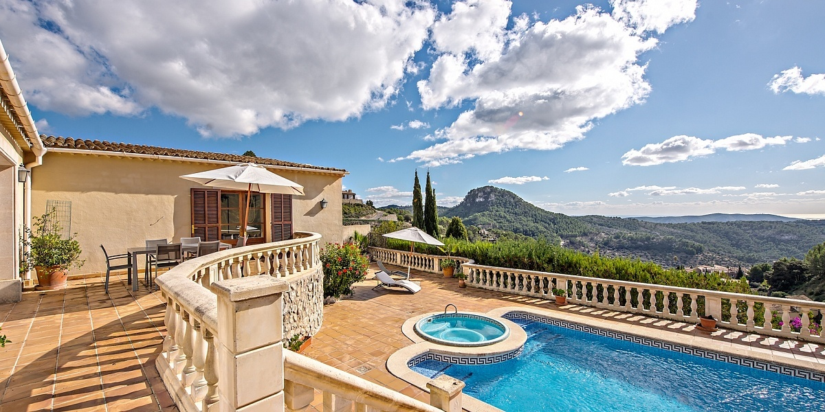 4 bedroom Villa for sale in Galilea, Mallorca