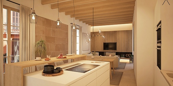 3 bedroom Apartment for sale in Palma Oldtown, Mallorca