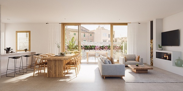 3 bedroom Apartment for sale in Santa Maria del Cami, Mallorca