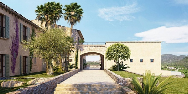 5 bedroom Finca for sale in Santa Maria del Cami, Mallorca