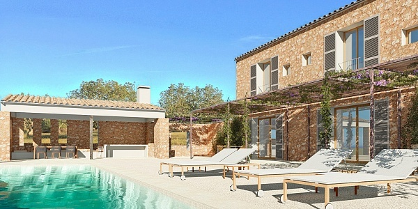 6 bedroom Land for sale in Santanyi, Mallorca